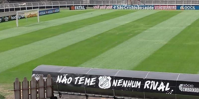E como está o gramado do Limeirão? Green Care Gramados Esportivos & Tapia Gramados. Prazer em fazer bem feito! @ Estádio Limeirão