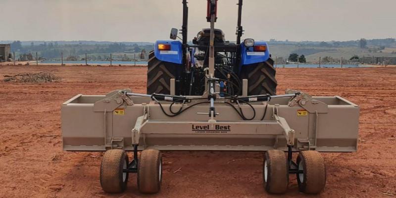 Nivelamento a laser